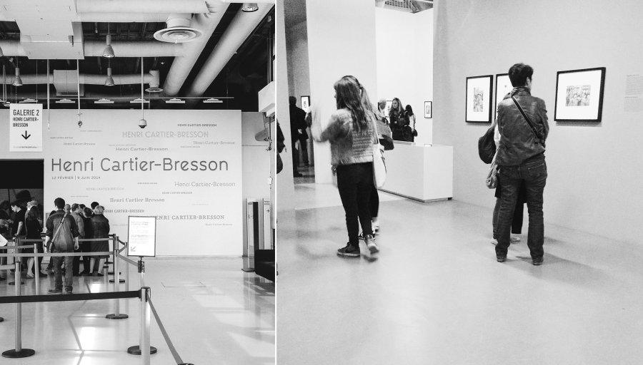 Henri Cartier-Bresson exhibit at Galeries Lafayette in Paris