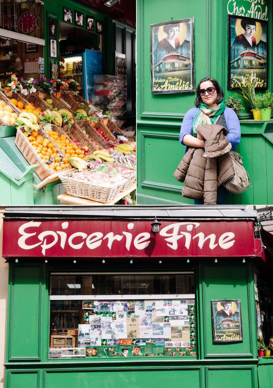 Au Marche de la Butte from Amelie in Montmartre