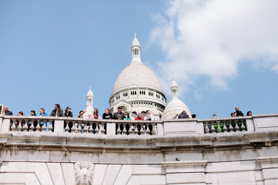 Sacre-Couer in Paris, France