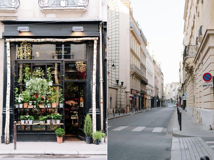 Saint Pères Fleurs on Rue des Saint-Peres in Paris