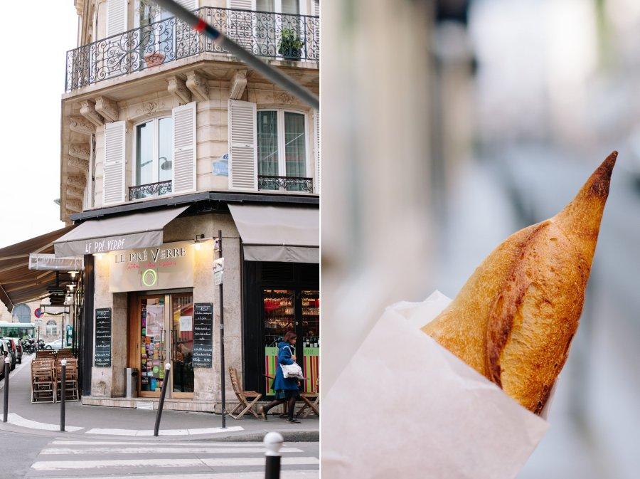 Le Pre Verre restaurant in Paris