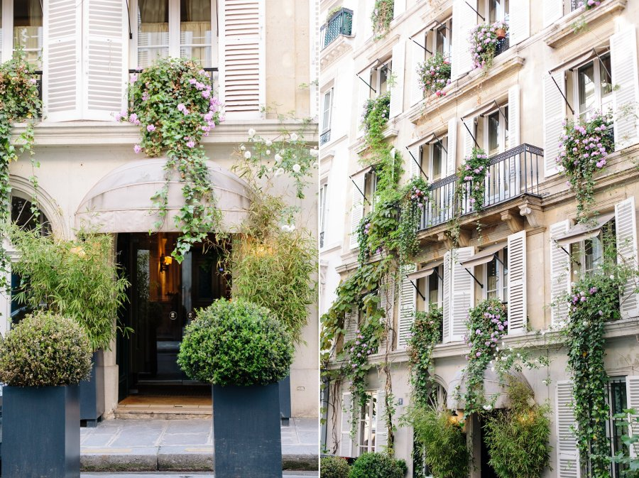 Hotel Saint Vincent in Saint-Germain des Pres in Paris