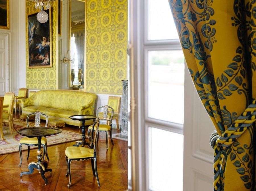 Petit Trianon interior at Versailles