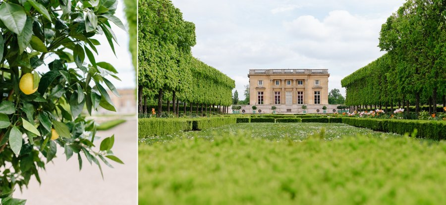 Petit Trianon at Versailles in France