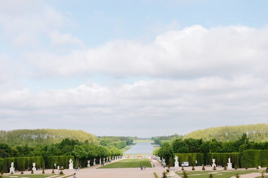 Gardens of the Chateau de Versailles.