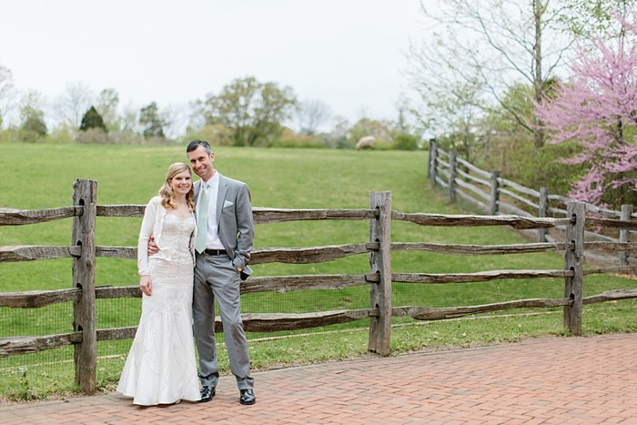 Mount Vernon wedding portrait